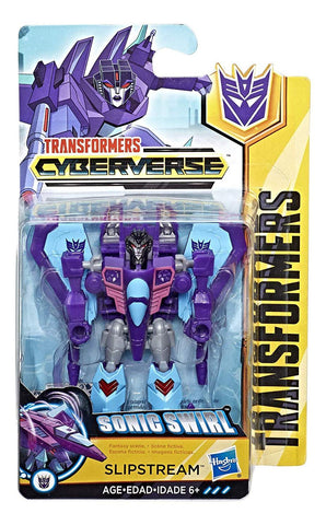 Transformers Cyberverse Scout Class Slipstream Toy Box