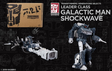Transformers Generations Selects Galactic Man Shockwave Promo