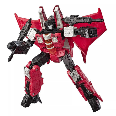Transformers War For Cybertron Generations Select WFC-GS02 Voyager Decepticon Red Wing Robot Toy