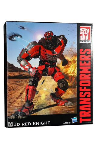 Transformers Jingdong JD.com Red Knight Voyager Action figure Box front Chinese exclusive