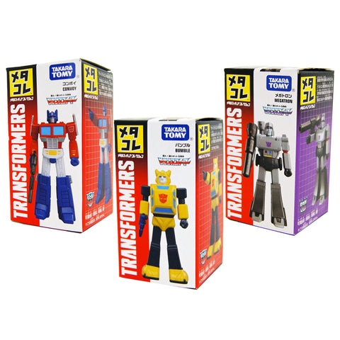 Transformers G1 Meta Colle Collection Metalcore Japan Optimus Prime Megatron Bumblebee