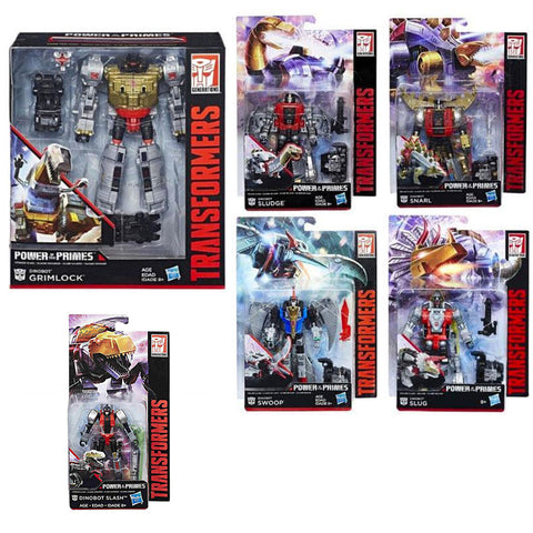 Transformers Power of the Primes POTP Volcanicus giftset box