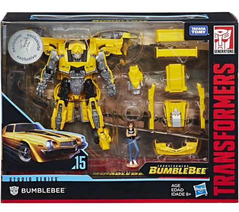 Transformers Studio Series Bumblebee and Charlie 15 giftset camaro box package