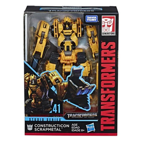 Transformers Movie Studio Series 41 Deluxe Constructicon Scrapmetal Box Package