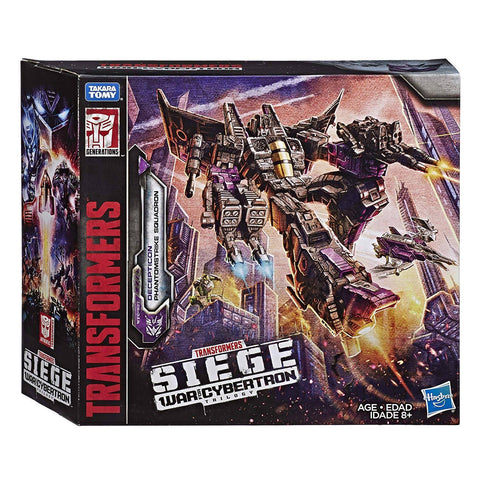 Transformers War for Cybertron Siege WFC-S27 Phantomstrike Squadron Box Package Skywarp Giftset