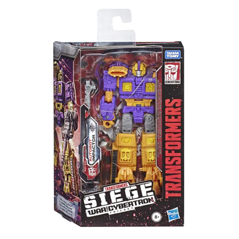 Transformers War Cybertron Siege WFC-S42 Deluxe Autobot Impactor Box Package