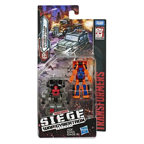Transformers War for Cybertron Siege WFC-S33 Micromaster Highjump Powertrain box package
