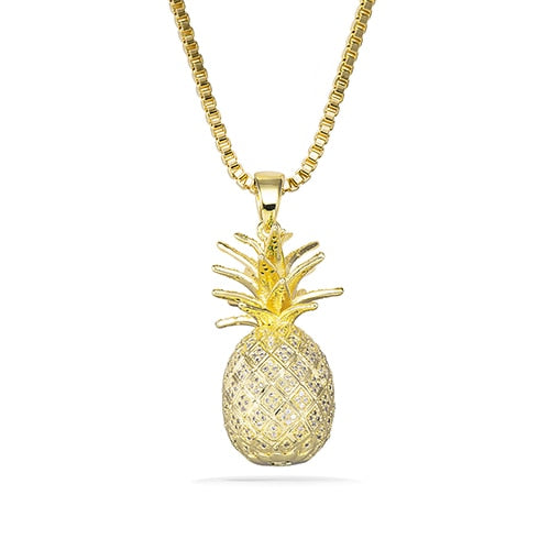 Awesome Pineapple Pendant Necklace