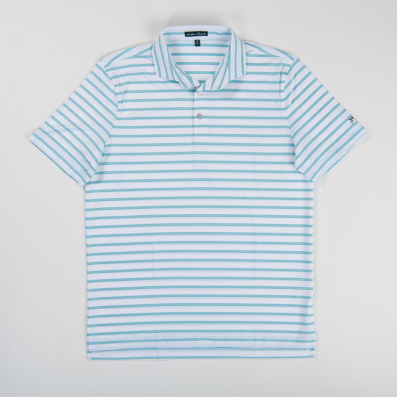 Youth Performance Polo - Ethereal