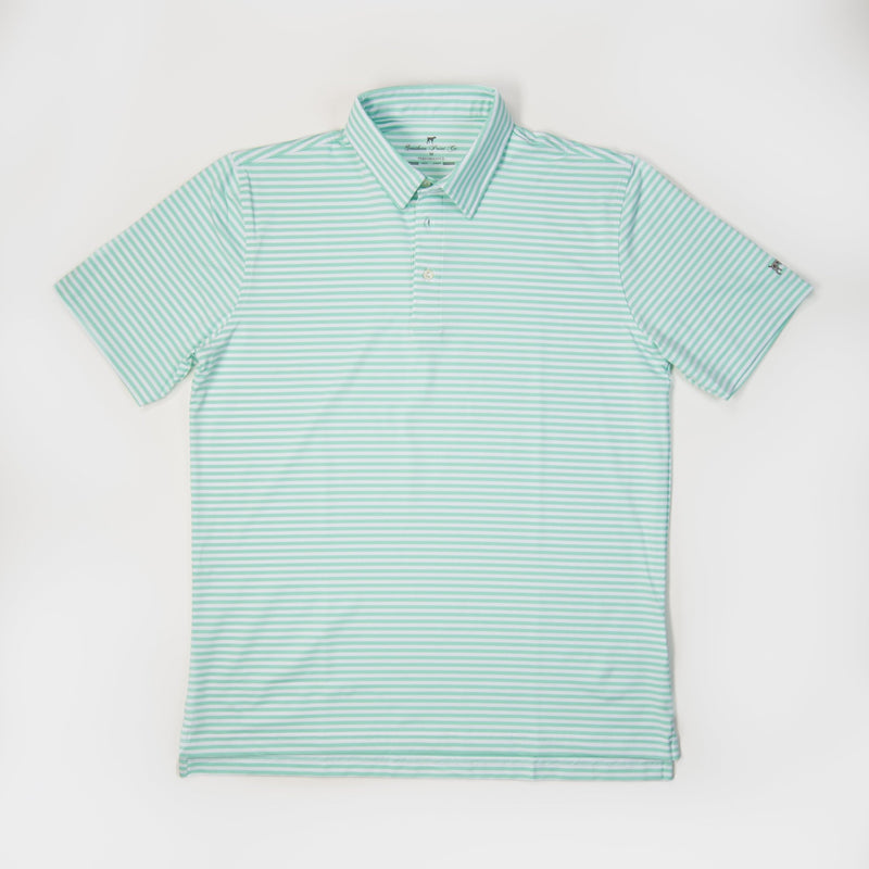 Performance Polo- Agate Green