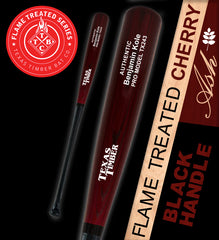 Pro Model Ash - Flame Treated Cherry | Black Handle Series
