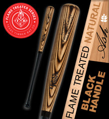 Pro Model Ash - Flame Treated Natural | Black Handle Series