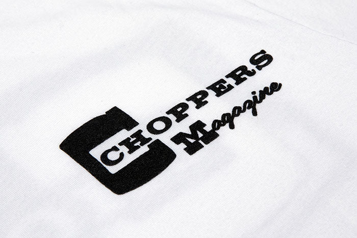 Choppers Badge White