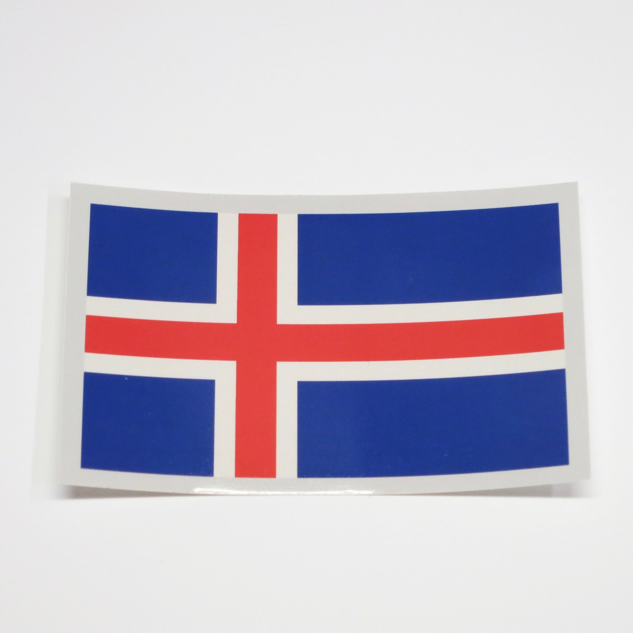 Rectangular Decal - Iceland