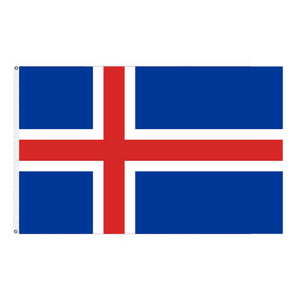 Icelandic Indoor Flag - Polyester