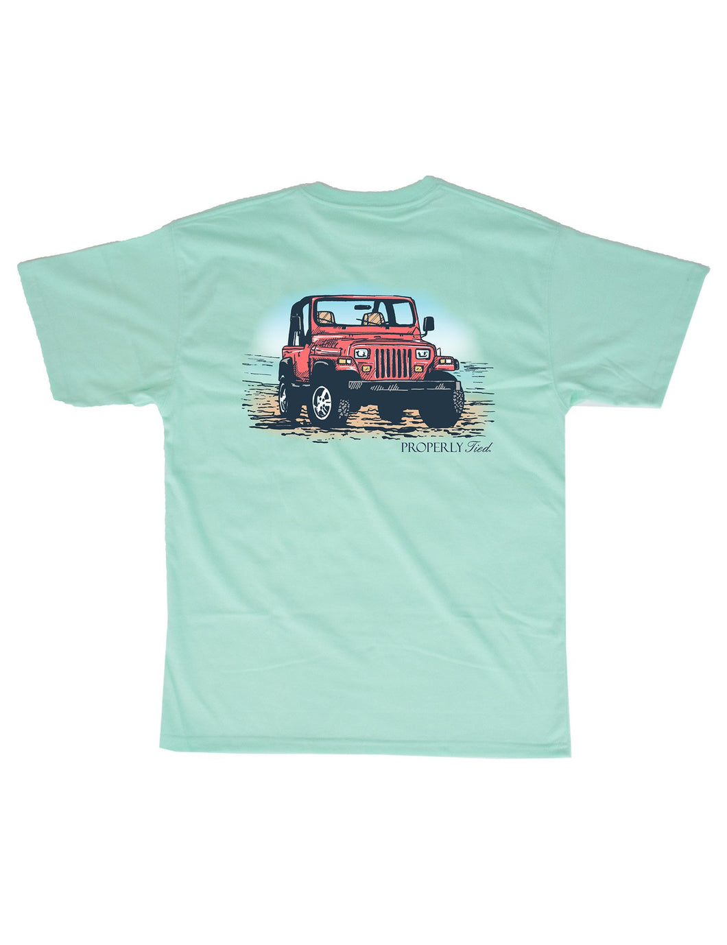 Off Road Tee by Properly Tied