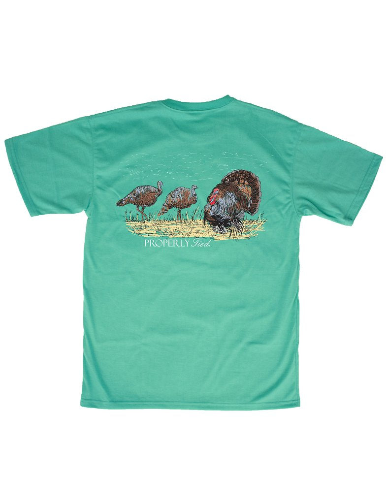 Lil Ducklings Strut Short Sleeve Tee by Properly Tied