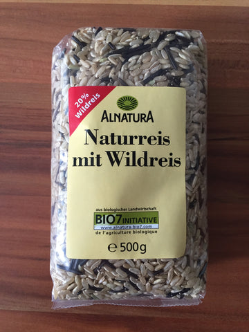 Naturreis Wildreis im Reiskocher Multikocher KRC-140 KeMar Kitchenware