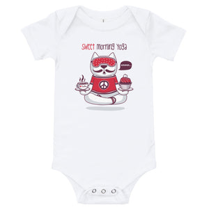 Sweet Morning Yoga Baby Bodysuit