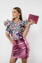 Load image into Gallery viewer, BY M.A.R.Y S Peta Skirt - Metallic Pink