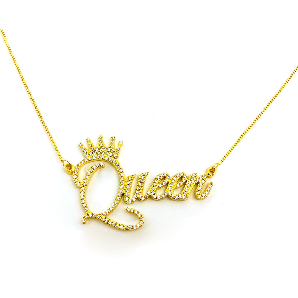 Diamond Cut Name Necklace