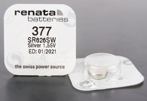 377 1.5V Renata Button Cell