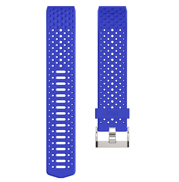 Fitbit Charge 2 Accessory Sport Band Cobalt Blue Small