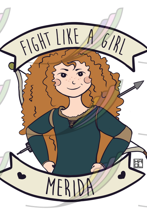 Ecobag Fight Like a Girl® - Merida