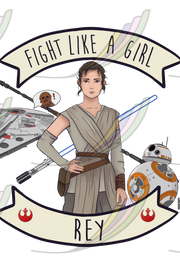 Ecobag Fight Like a Girl® - Rey