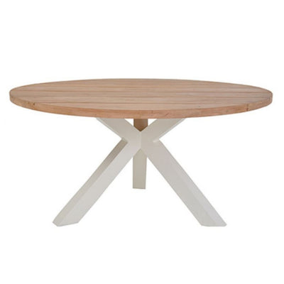 s2dio Timber Table outdoor aluminium legs outdoor furniture at The Springs Garden World