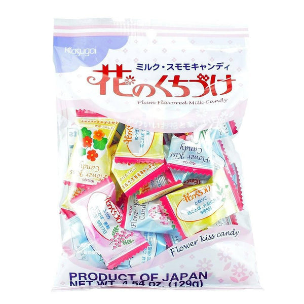 Flower Kiss Plum Flavored Milk Candy
