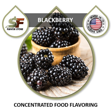Blackberry Flavor Concentrate 1oz