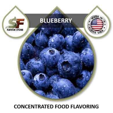 Blueberry Flavor Concentrate 1oz