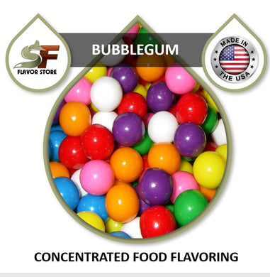 Bubblegum Flavor Concentrate 1oz