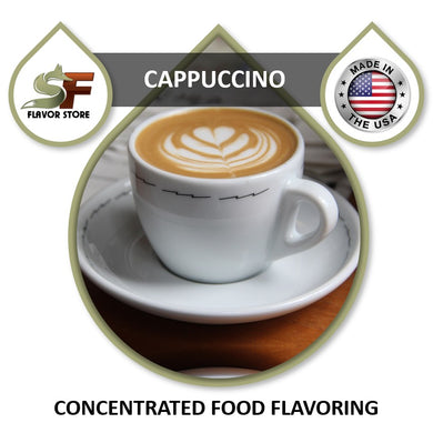 Cappuccino Flavor Concentrate 1oz