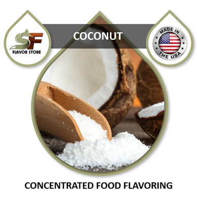 Coconut Flavor Concentrate 1oz