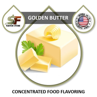 Golden Butter Flavor Concentrate 1oz