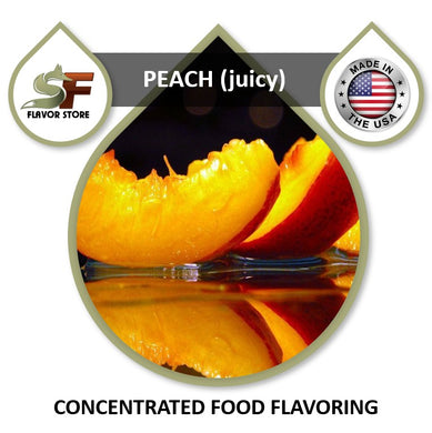 Peach (juicy) Flavor Concentrate 1oz