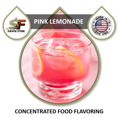 Pink Lemonade Flavor Concentrate 1oz