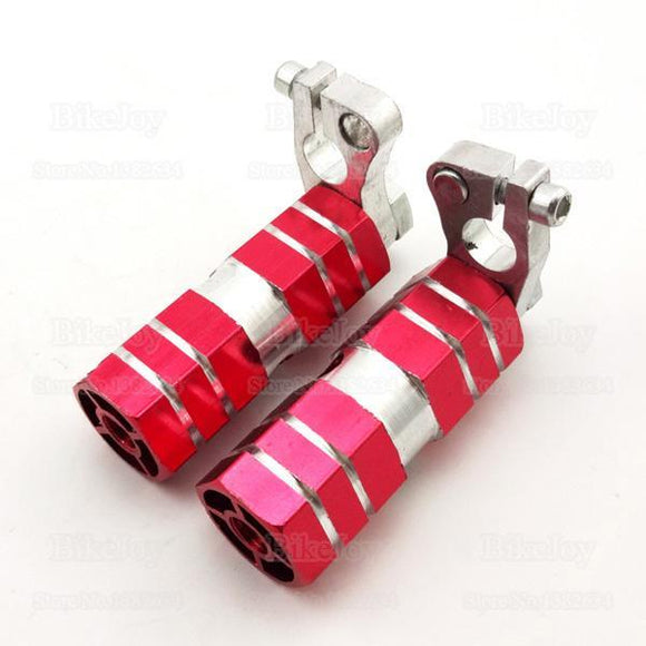 Set Red Aluminium Anodized Lucky 7 Pegs