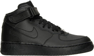 Big Kids Nike Air Force 1 Mid Gs Af1 Sneaker In Black