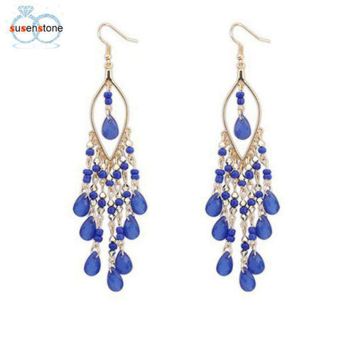 Bohemian Party Style Earrings