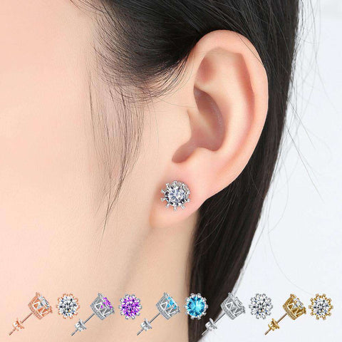 Elegant Diamond Earrings For Daily Use