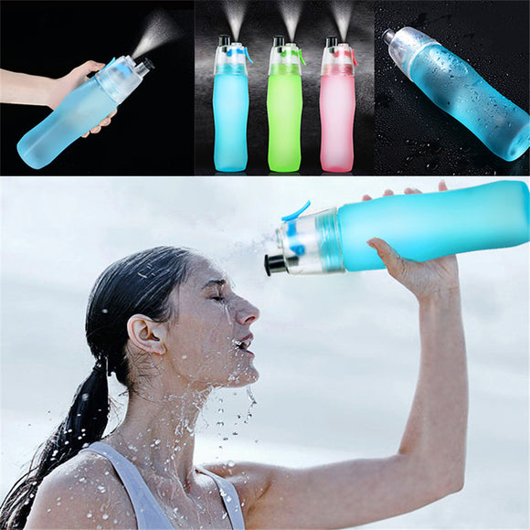 Creative Water Bottle Sport Spray Bottle Moisturizing Cycling Sports Gym Drinking Bottles