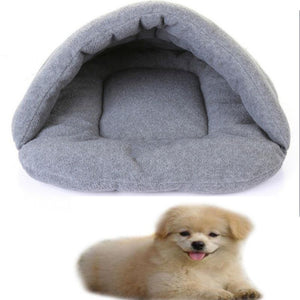 Pet Bamboo Charcoal Sleeping Bag Fleece Dog House Bed Dog Puppy Cat Multifunctional Foldable Warm Cushion Sofa Supplies