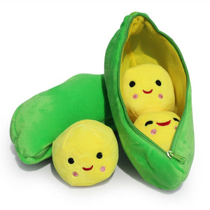 Cartoon Toy Story 3 Little Peas Mini Plush Toys Peas-in-a-Pod Soft Stuffed Dolls 22cm