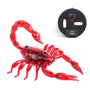 High Simultion Infrared Remote Control Realistic Animal Scorpion Kids Toy Gift