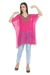 FANCY PONCHO TRADITIONAL INDIAN PARTY WEAR KURTI TUNIC SHORT PONCHO
