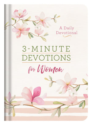 3-Minute Devotions For Women-Hardcover