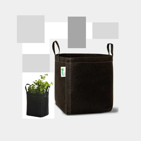 GeoPot Fabric Pot with handles